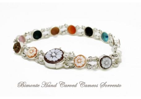 """The Flower of Joy"" Cameo Bracelet"