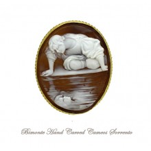 """""""Narciso"""" Cameo Brooch and Pendant"""