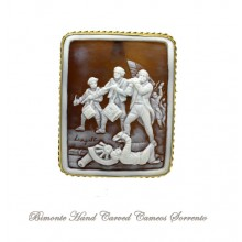 """""""The Spirit of the '76"""" Cameo Brooch and Pendant"""