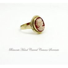 Traditional Cameo Ring