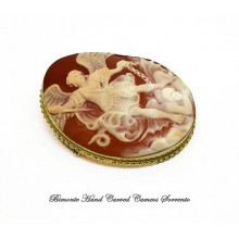 """""""Michele Arcangelo"""" Cameo Brooch and Pendant"""