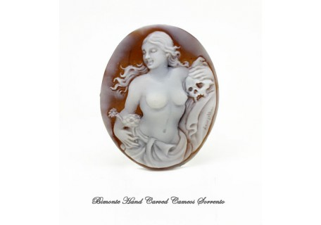 """ The Transience of Beauty"" Cameo"
