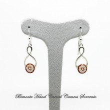 """Cocò"" Flower of Joy Cameo Earrings"