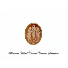 """""""The Three Graces"""" Cameo Brooch and Pendant"""