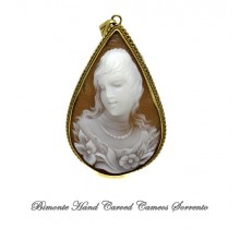 """The Smile of Flora"" Cameo Pendant"