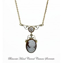 """Filigrana"" Bella Cameo Necklace"