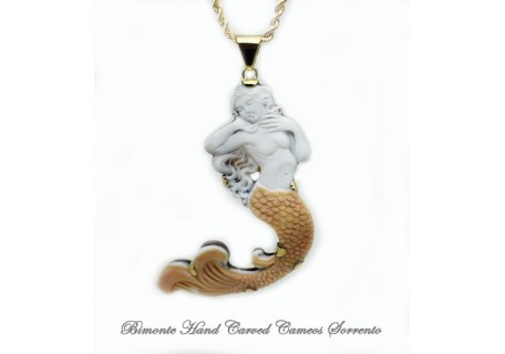 """""""The Call of the Siren"""" Cameo Necklace"""