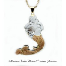 """The Call of the Siren"" Cameo Necklace"