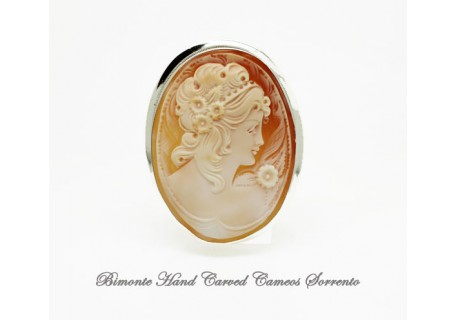 """""""Classica"""" Cameo Brooch and Pendant"""