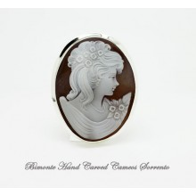 """""""Gentile"""" Cameo Brooch and Pendant"""