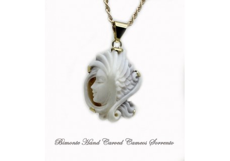 """""""Angel"""" Cameo Necklace"""