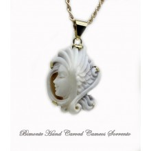 """Angel"" Cameo Necklace"