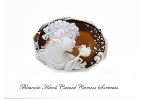 """""""Make a Wish"""" Cameo Brooch and Pendant"""