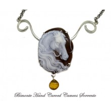 """Arion"" Cameo Necklace"