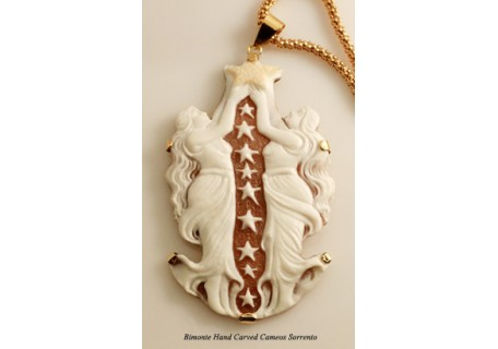 """Stelle"" Cameo Necklace"