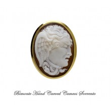 """The Gaze of the Gorgone"" Cameo Brooch and Pendant"