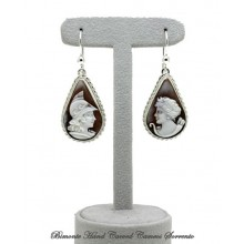 """Wisdom and Independence"" Cameo Earrings"