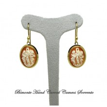 """The Three Graces"" Cameo Earrings"