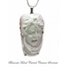 """The Gaze of the Gorgone"" Cameo Necklace"