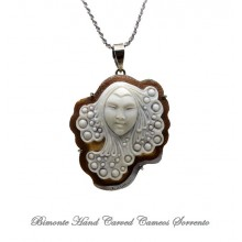 """Morgana"" Cameo Necklace"