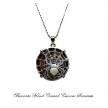 """Aracne"" Cameo Necklace"