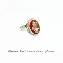 """""""Butterfly"""" Cameo Ring"""