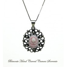 """La Rosa Antica"" Cameo Necklace"