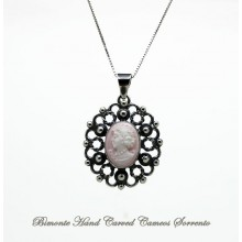 """La Flora Antica"" Cameo Necklace"