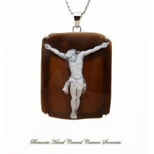 """Il Cristo"" Cameo Necklace"