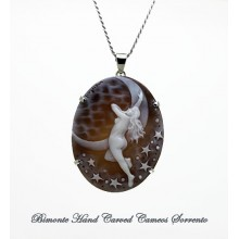 """Selene"" Cameo Necklace"