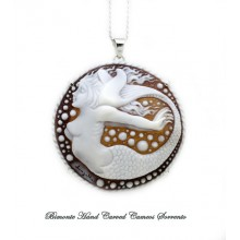 """Siren of Sorrento"" Cameo Necklace"