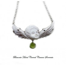 """Guardian Angel"" Cameo Necklace"
