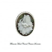 """""""Bright Butterfly"""" Cameo Brooch and Pendant"""