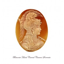 """Athena Goddess of Wisdom"" Cameo"