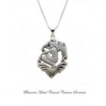 """""""Guardian Angel"""" Cameo Necklace"""