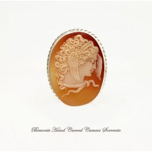 """""""Medusa"""" Old Cameo Brooch and Pendant"""