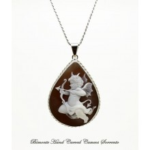 """""""Naughty Love"""" Cameo Necklace"""