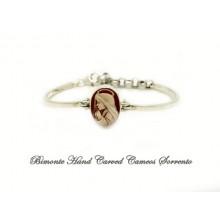 """Virgin Mary"" Cameo Cuff Bracelet"