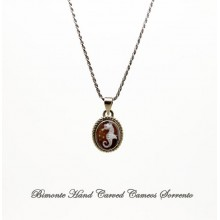 """""""Little SeaHorse"""" Cameo Necklace"""