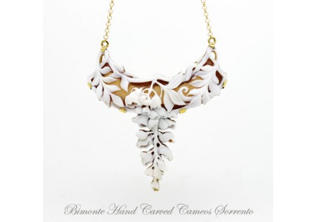 """Wisteria"" Cameo Necklace"