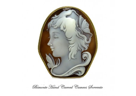 """Psiche"" Cameo Brooch and Pendent"