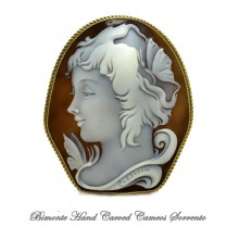 """""""Psiche"""" Cameo Brooch and Pendent"""