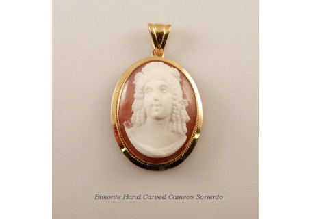 """Donna"" Cameo Pendent"