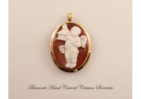 Angel of the Light Cameo Pendent
