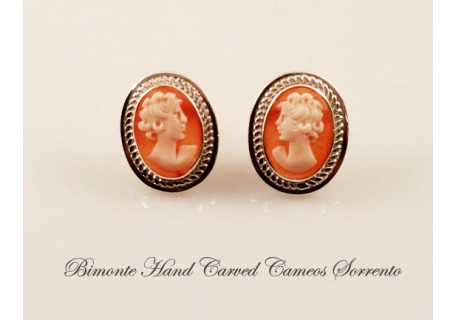 Cameo Earrings