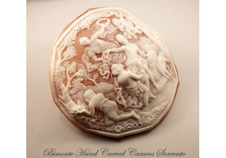 """The Bath of Diana"" Cameo Masterpiece"