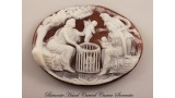 """""""Selling Cupids"""" Cameo"""